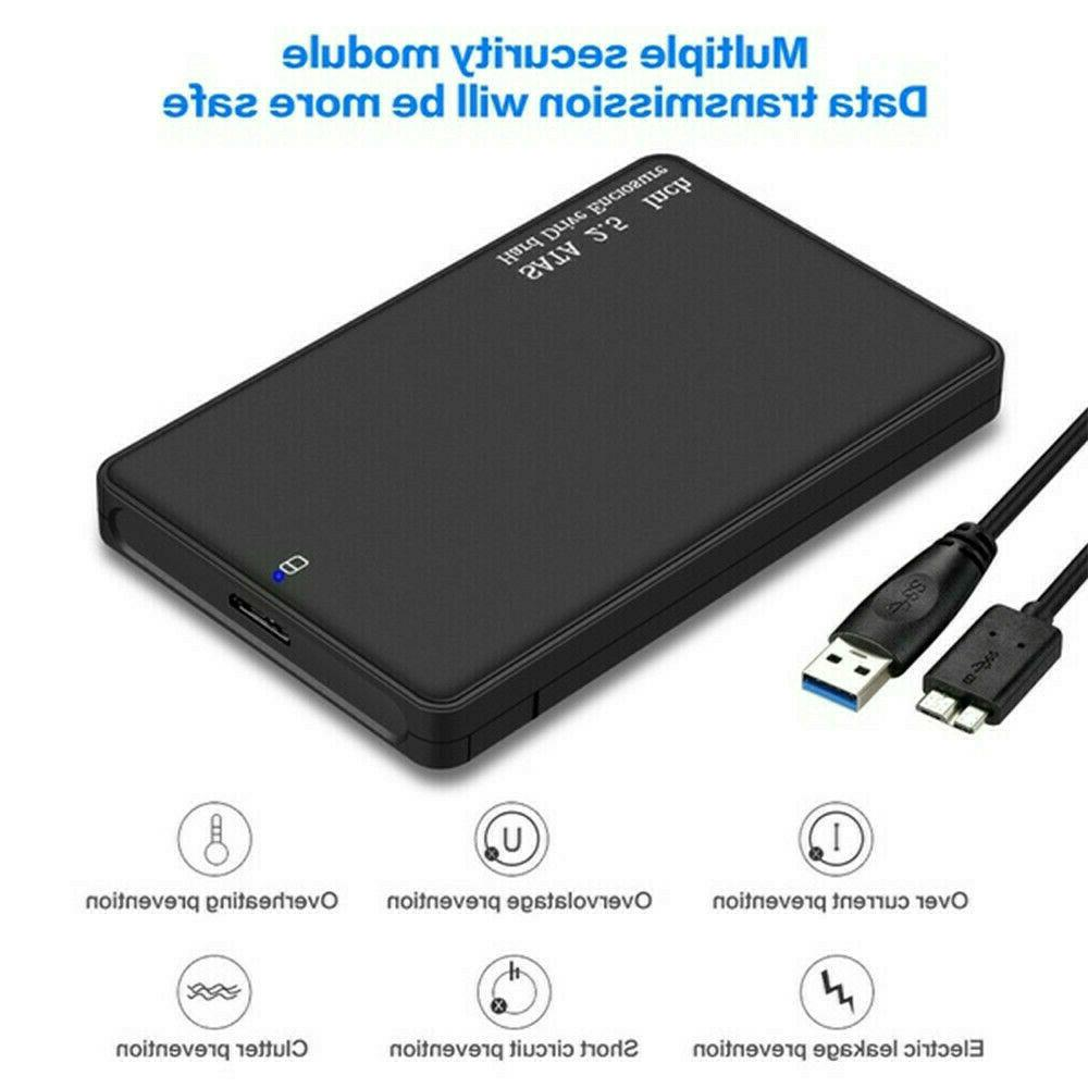 4TB 3.0 External Box Slim SATA Devices