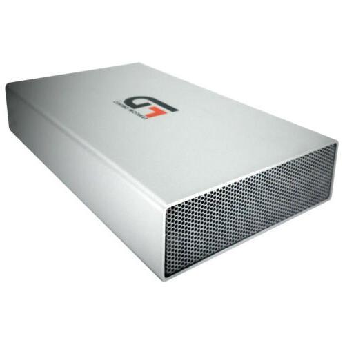 Fantom Drives 8TB External Hard Drive USB 3.2 Silver - Aluminum