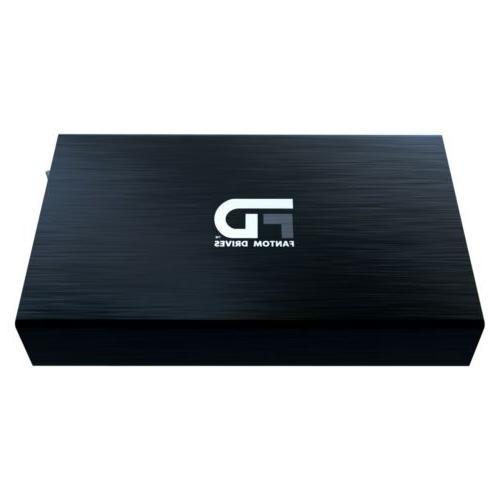Fantom Drives 2TB Hard Drive USB 3.2 Gen 1 Black -