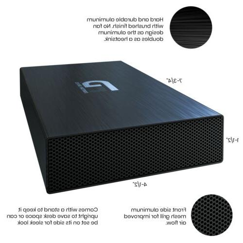 Fantom Hard Drive - 3.2 Black