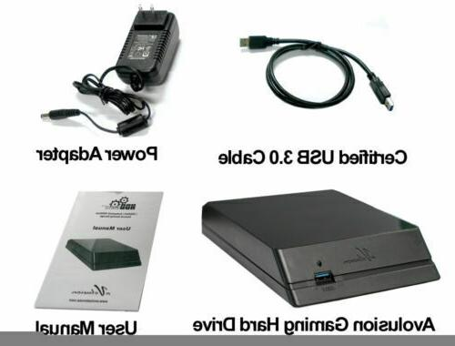 Avolusion 3.0 External Drive For PS4, PS4 Pro
