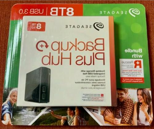 Backup Plus Hub STEL8000100 8 TB External Hard Drive