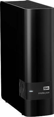 WD - External USB Drive - Black