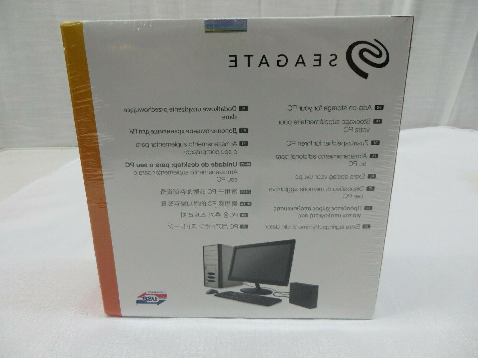 Seagate Expansion Desktop External
