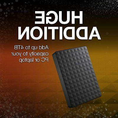 Seagate Expansion External USB 3.0