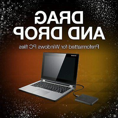 Seagate Portable External HDD USB