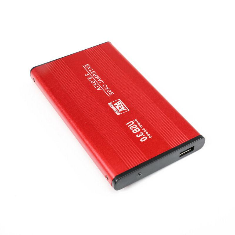 External Hard Drive 2TB HDD USB3.0 Disk Devices Red
