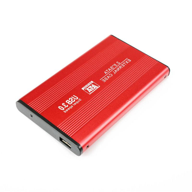 External Hard HDD Externo HD Disk Devices Laptop Red