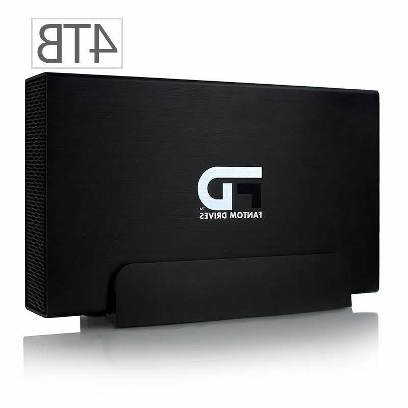 Fantom Drives GF3B4000EU Gforce/3 4 TB External Hard Drive -