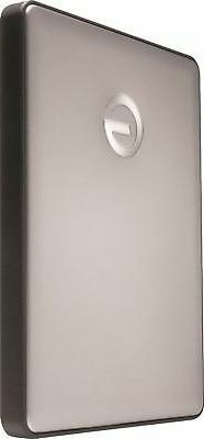 G-Technology 1TB G-DRIVE mobile USB-C  Portable External Har