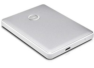 G-Technology 2TB USB-C 1 Portable Hard -