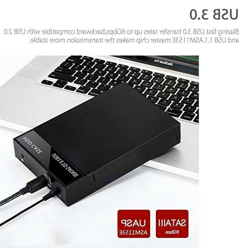 "2.5"" 3.5 Drive External to USB HDD"