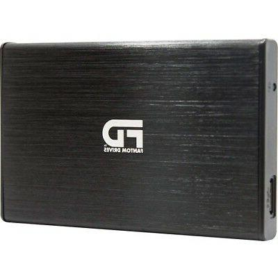 Fantom Drives PS4 External Hard Drive 3TB Cool and Quiet Rug