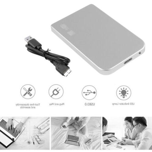 """Portable 2.5"""" External Disk Slim For PC US"""