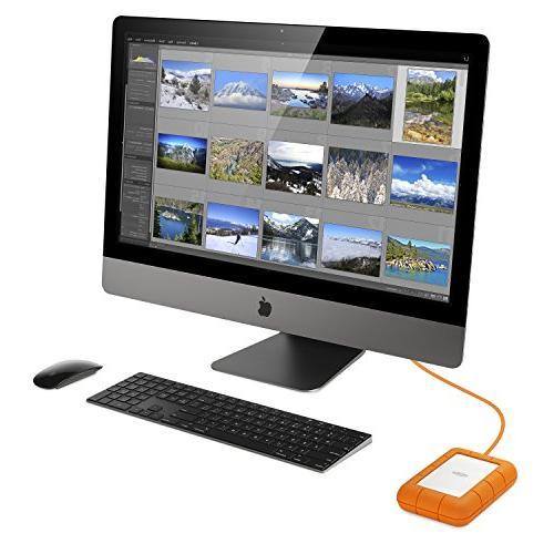 LaCie Pro 4TB USB-C Drive + CC