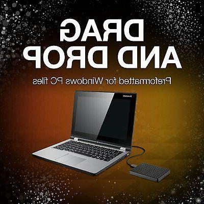 Seagate 2TB External Hard Drive HDD