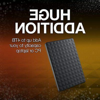 Seagate 2TB External Hard USB 3.0