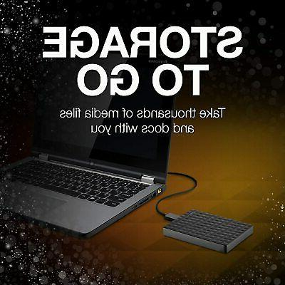Seagate External Hard Drive USB 3.0