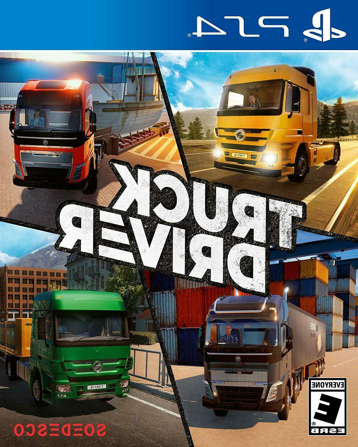 Truck Driver - Sony PlayStation 4    ***FAST 2 DAY SHIPPING!