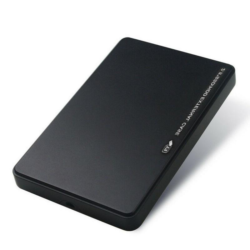 USB 3.0 2TB SATA External Drive Case