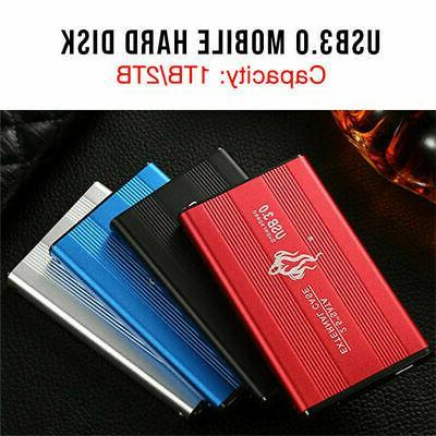 Portable USB 3.0 2TB 1TB External