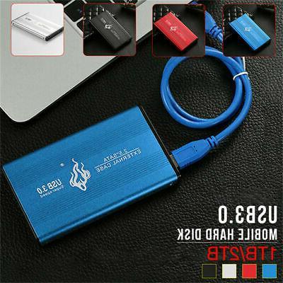 portable usb 3 0 2tb 1tb external