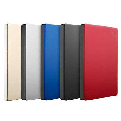 """2.5"""" External Portable 2TB HDD Hard Disk USB 3.0 SATA 3.0 Mo"""
