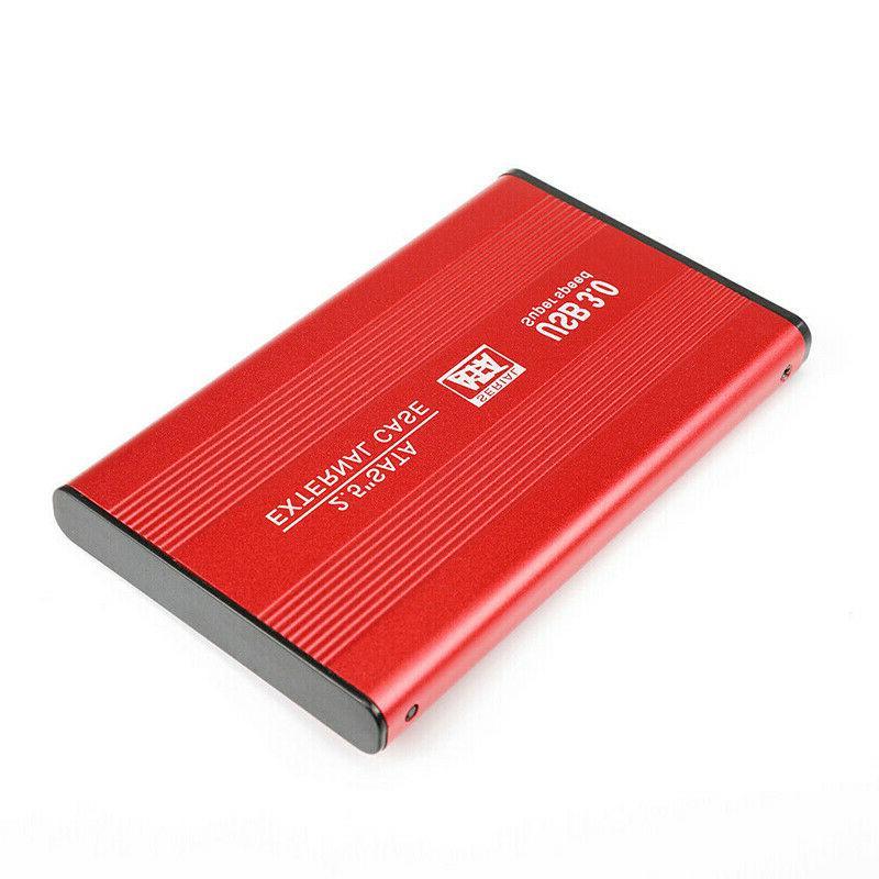 USB 3.0 2TB Hard Drive Fit PC Portable