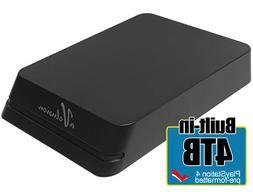 Avolusion Mini HDDGear Pro 4TB USB 3.0 External Hard Drive