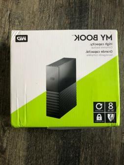 "Western Digital My Book 3.5"" 8TB External Hard Disk Drive"