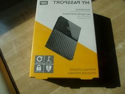 My Passport Western Digital Portable External Hard Drive 1 T