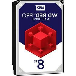 """New WD Red Pro 8TB Hard Drive -7200RPM SATA 256MB 3.5"""" Inter"""