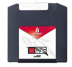 New NOS Iomega Zip 100 Disks 10 Pack - IBM Formatted gig-a-p