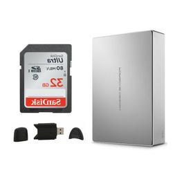 LaCie Porsche Design USB-C 6TB External Desktop Hard Drive B