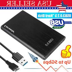 "Portable 2TB USB 3.0 2.5""External Hard Drive Ultra Slim for"