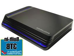 Avolusion Pro X 3TB USB 3.0 External Gaming Hard Drive