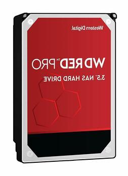 WD Red Pro 8TB NAS Internal Hard Drive 7200 RPM 256 MB Cache