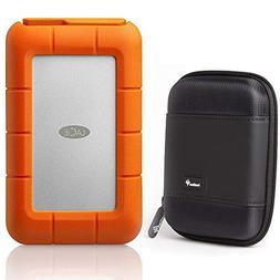 LaCie Rugged Raid Pro USB-C 4TB Portable Hard Drive with Har