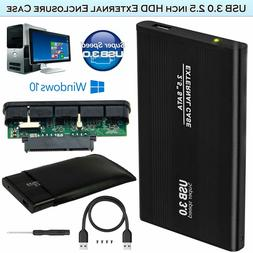 "ORICO 2139U3 2.5"" USB 3.0 Transparent 5Gbps Sata HDD Case Ha"