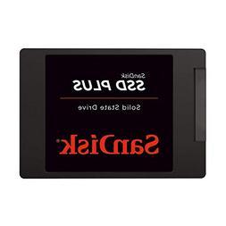 """SanDisk SSD PLUS 1TB Internal SSD - SATA III 6 Gb/s, 2.5""""/7m"""