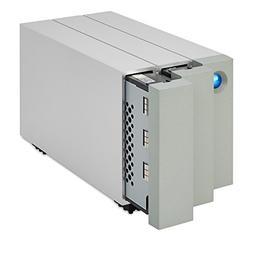 Lacie STEY8000100 8TB, 2BIG RAID, Thunderbolt 2, 7200 RPM; n