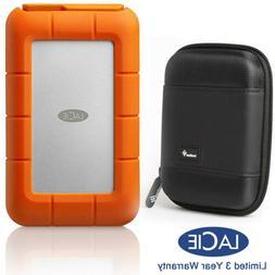 LaCie STFS5000800 Rugged 5TB Thunderbolt/USB-C Hard Drive, C