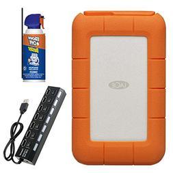 LaCie STFS5000800 Rugged RAID Thunderbolt USB-C 5TB Portable