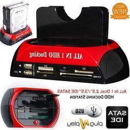 Techlab HDD Docking Station IDE SATA Dual USB 3.0 Clone Hard
