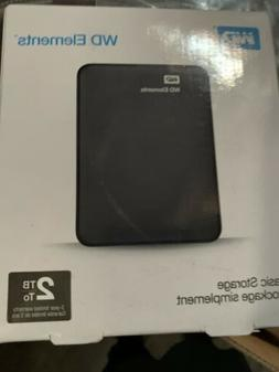 U6Y0020BBK-EESN WD Elements USB 2TB 3.0 high-capacity portab