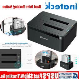 Inateck USB 3.0 HDD Docking Station Dual Bay Offline Clone 2