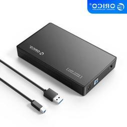 "USB 3.0 External 2.5"" SSD 3.5 Inch HDD Hard Drive SATA Enclo"