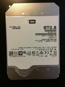 "WD 8TB RED SATA NASware 3.0 3.5"" SATA III Internal NAS Hard"