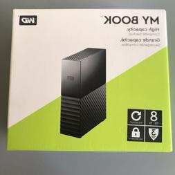 WD My Book 8TB External USB 3.0 Hard Drive