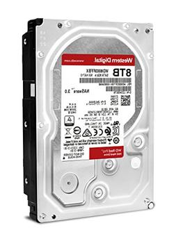 Western Digital WD Red Pro 8TB NAS Hard Drive - 7200 RPM Cla